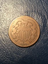 Buy 1871 two cent piece