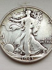 Buy 1943 S Walking Liberty Half Dollar - NO RESERVE