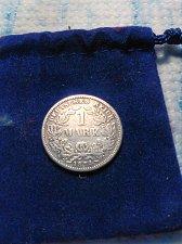Buy 1874-F SILVER GERMAN ONE MARK