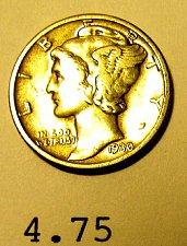 Buy 1930 Mercury SILVER Dime- Nice