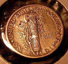 Buy 1920-S choice Mercury Dime  A-90 Win 1st dime/s, Take 10% off 2nd dime/s Won ref