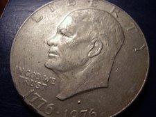 Buy 1976   D Eisenhower Type 2 High Relief Dollar