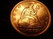 Buy 1875s Twenty Cent Coin, Seated Liberty 1875 s Twenty Cent