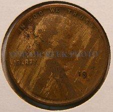 Buy 1917-S Lincoln Cent Good rim to rim lamination error