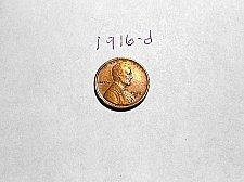Buy 1916-d Lincoln Wheat Cent       AU/UNC   RB