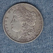 Buy 1885  Silver Morgan Dollar