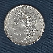 Buy 1890  Silver Morgan Dollar