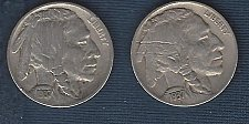 Buy 1937 and 1937-D Buffalo nickels - full dates and most of horn and tail.
