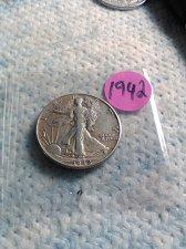 Buy 1942 WALKING LIBERTY HALF
