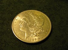 Buy 1882-0 morgan Silver Dollar  gem BU#57-