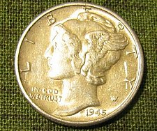 Buy 1945 P mercury Dime BU-A-11