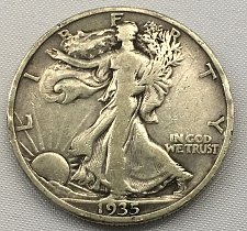 Buy 1935 P Walking Liberty Half Dollar