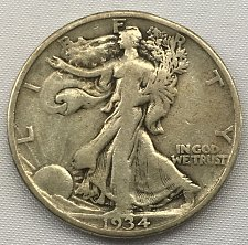 Buy 1934 P Walking Liberty Half Dollar