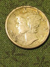 Buy Mercury Dime 1917-S +Win 1st dime/s, Take 10% off 2nd dime/s won refunded