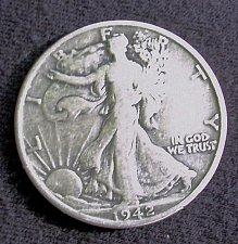 Buy 1942 S Walking Liberty Half Dollar Fine
