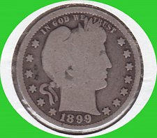 Buy 1899 Barber Quarter Dollar  *********************(#456)