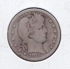 Buy 1916 Barber Quarter   (n181)