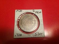 Buy 1920 1 peso .720 silver