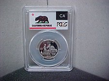 Buy 2005-S 25C PCGS California Silver