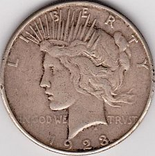 Buy 1923-S Peace Dollar