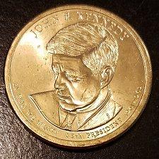 Buy 2015-P John F Kennedy Presidential Dollar (6855)
