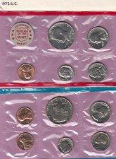 Buy 1972 Uncirculated double set  /  WM-17
