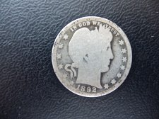 Buy 1892-O Barber Quarter