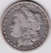 Buy 1901-O Morgan Silver Dollar.