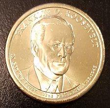 Buy 2014-D Franklin Roosevelt Presidential Dollar - From US Mint Roll (6958)