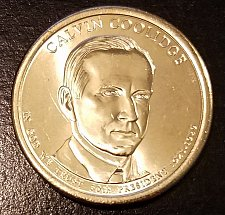 Buy 2014-D Calvin Coolidge Presidential Dollar - From US Mint Roll (6959)