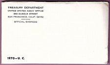 Buy U.S. Uncirculated Coin Set  1970  Mint Set- Double Set  /   WM-18