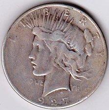 Buy 1927-S Peace Dollar