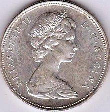 Buy 1966 Canadian Silver Dollar
