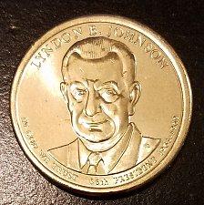 Buy 2015-D Lyndon Johnson Presidential Dollar - From US Mint Roll (7055)