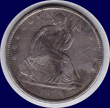 Buy 1859-O Liberty Seated Half 50C Dollar