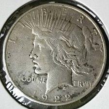 Buy 1922 D Peace Dollar