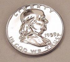 Buy 1959 P Franklin Half Dollar