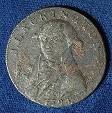 Buy 1794 Conder Token Middlesex, J. Lackington.Allen & Co. Halfpenny