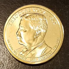 Buy 2013-D Theodore Roosevelt Presidential Dollar - From Mint Roll (7209)