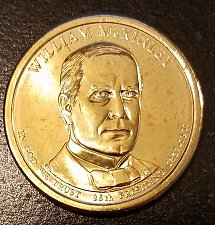 Buy 2013-D William McKinley Presidential Dollar - From mint Roll (7212)