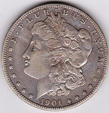 Buy 1901-S Morgan Silver Dollar