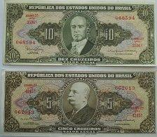 Buy BRAZIL 2 PIECE OLD WORLD PAPER MONEY LOT
