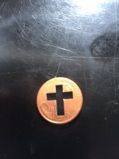 Buy LINCOLN MEMORIAL CENT - PUNCHED CROSS