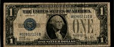 Buy 1928 B $1 Funny Back Silver Certificate 110