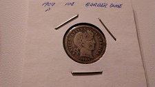 Buy Barber Dime Silver 1907P