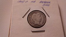 Buy 1905P Silver Barber Dime