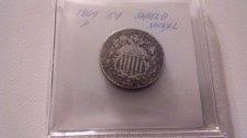 Buy 1867 P Shield Nickel