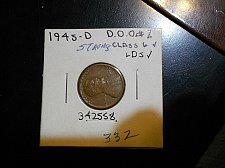 Buy 1945-d  Lincoln Wheat Cent   d.d.o. #2