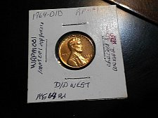 Buy 1964- d/d   Lincoln Wheat Cent  RPM #1