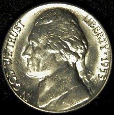 Buy 1953 D Jefferson Nickel Choice BU Nearly 'Full Steps' Superb Luster